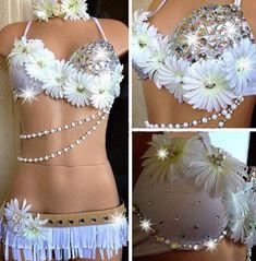 Summer Wonderland Rave Outfit!