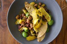 Olives marinated with lemon zest and coriander | HonestlyYUM