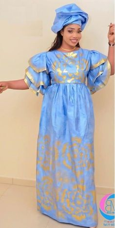 Items similar to african fashion high end clothing getzner magnum gold african african dress african dress / bazin boubou, plus size dress / plus size clothing on etsy Latest African Fashion Dresses, African Print Fashion, Manado, Tie Dye Designs, African Design, African Dress, The Dress, Shoulder Dress, Summer Dresses