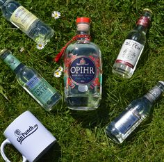 Opihr Oriental Spiced Gin with Franklin & Sons tonic, Double Duych tonic, Fever-Tree tonic and Peter Spanton tonic.