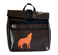 Rucksack aus LKW Plane mit Wolf Recycling, Planer, Wolf, Backpacks, Bags, Fashion, Hand Crafts, Handbags, Moda