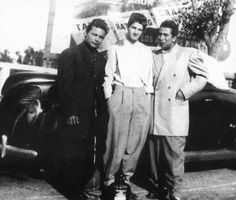 Zoot suits represented a Mexican-American teenage cultural fashion that was made out of material that was discouraged from purchasing during WWII due to rations.