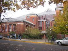campus buildings at University of Oregon in Eugene - used to walk allover the campus