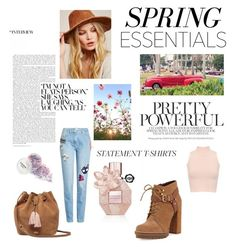 """""""SPRING ESSENTIALS"""" by scfia on Polyvore featuring beauty, BCBGeneration, UGG, WearAll, Free People and Kenzo"""
