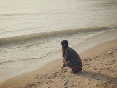Sometimes I want to see turbid sea .