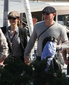 Daniel Craig and Rachel Weisz enjoy the princes islands in Istanbul :)