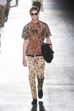 Dries Van Noten MEN | Paris | Verão 2014 RTW