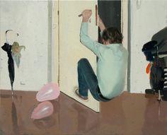 Pere Llobera. Untitled, oil on canvas, 2010