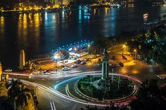 Kasr El Nile bridge, Cairo by Dereje Belachew.