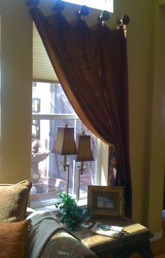 Custom Window Treatment by Jane Gianarelli