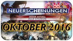 Spiele Neuerscheinungen - Oktober 2016