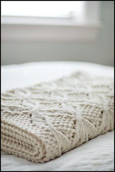 Umaro blanket by Brooklyn Tweed. http://brooklyntweed.net/blog/?p=471