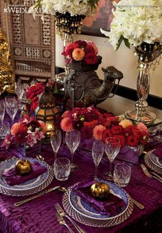 Moroccan Wedding Theme   Weddings Romantique