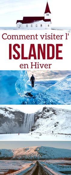 Voyage Islande Hiver - Guide pratique pour préparer son voyage Islandais en Hiver - Options Circuits, Road Trips ou excursions - Conditions en Hiver et Comment se préparer | Islande itinéraire | #islande | Islande Hiver