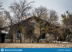 Neglected Ruined And Destroyed Building Slowly Falling Apart Stock Photo - Image of broken, grunge: 185334652 Derelict Buildings, Building Exterior, Falling Apart, Abandoned, Grunge, Stock Photos, House Styles, Image, Left Out