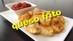 Queso frito Queso Frito, Homemade Cheese, Spanish Food, Foodies, Good Food, Healthy Recipes, Group, Drink, Baking