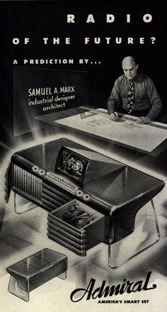 "ohthentic: "" danismm: "" Radio of the Future (1942) "" Oh """