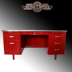 This is the one I'm using now... My other one is a little older..... Still deciding what color to use.... McDowell & Craig Vintage Steel Tanker Desk
