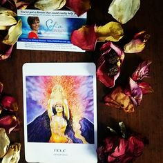Today's #Intuitive #Oracle card reading is Pele Awakening  Let the flow loose. Something has been building inside of you and if you do not release it to the world, it will consume you.