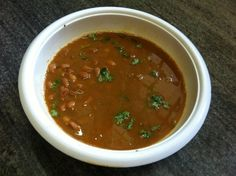 Punjabi Rajmah In Gravy (Red Kidney Beans In Curry) Recipe