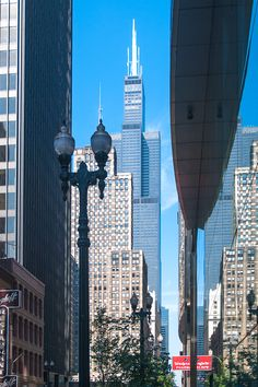 #Willis #Tower in #Chikago (früher #Sears Tower), #Illinois, #USA