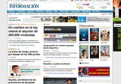 Nuestro juego, la #ApuestadelDÍA ha aparecido hoy en portada de la versión online del Diario Información, ¡aquí os dejamos la prueba! :-) #futbol #prensa #apuestas