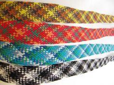 Ristikkonauha puuvillaa, eri värejä, lev. 20 mm Braids With Weave, Ribbons, Friendship Bracelets, Bands, Costumes, Spring, Bias Tape, Dress Up Clothes, Fancy Dress
