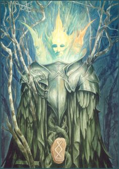 Rune Ingwaz - Arrival (the Runes of Elfland) by Brian Froud