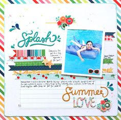 @beckywilliams knocked it out of the park with these incredible projects using the Fun in the Sun collection by @PebblesInc.