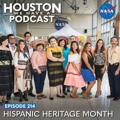 Ep 214: Hispanic Heritage Month | NASA Johnson Space Center, Nasa History, Hispanic Heritage Month, Summer Dresses, Houston, People, London, Fashion, Moda