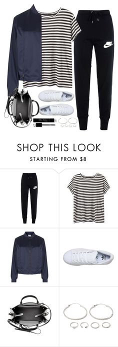 """""""Untitled#4149"""" by fashionnfacts ❤ liked on Polyvore featuring NIKE, Proenza Schouler, Maison Margiela, adidas, Balenciaga, Christian Dior and Forever 21"""