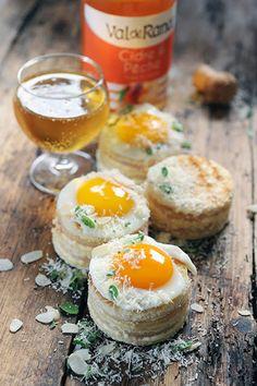 Minis Croques-madame très fromage...#ValderRance