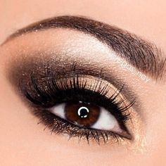 Gorgeous chocolate brown! In love with this shadow!