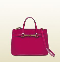bright bit  patent leather top handle tote