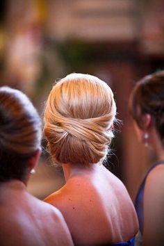 peinado clasico novias