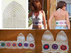 Luty Artes Crochet: Moda verão em Crochê .