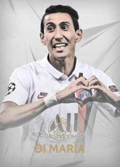Angel Di Maria detailed, premium quality, magnet mounted prints on metal designed by talented artists. Our posters will make your wall come to life. Ryan Review, Football Players Images, Richard Dawson, Mike Williams, Messi And Ronaldo, Looking To Buy, New Artists, Cool Artwork, Real Madrid