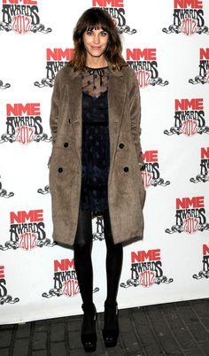 Alexa Chung in Valentino at the 2012 NME Awards #AlexaChung #Valentino