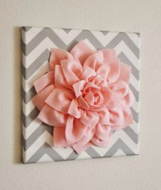 Peachy Pink and Gray. You can find this wall art at  www.etsy.com