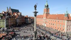 Warsaw, Poland, Royal Castle, Old Town, Palace of Culture and Science, Europe