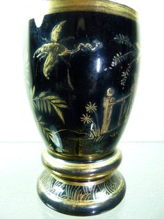Biedermeier Lithyalin glass . Buquoy ??