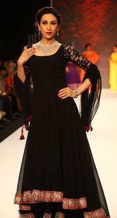 #Karisma Kapoor #Bollywood #Actress #ManishMalhotra #Outfit