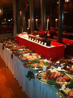 Julbord på Kaknästornet (Christmas Buffet at Kaknästornet)