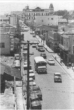 vista panoramica de la ciudad de santiago de los caballeros republica dominicana decada del 70
