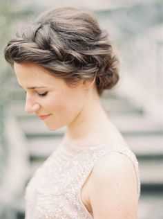 A romantic side braid to spruce up your 9-5 week.