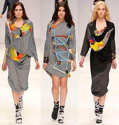 Fashion Me Fabulous: London Fashion Week Fall/Winter 2010: Central St. Martins