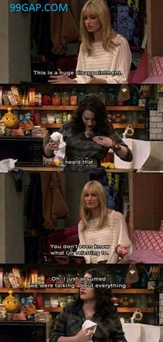 #FunnyJokes Collection From Two Broke Girls #funnymemes
