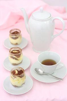 the Tiramisu with Cocoa and Tea. #shopfesta