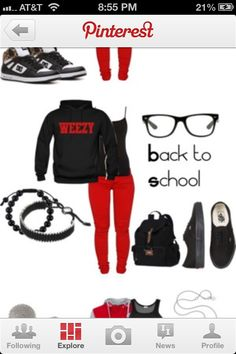 Back to school swag!