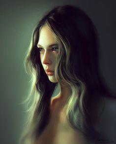 girl portrait by liangxinxin on deviantART